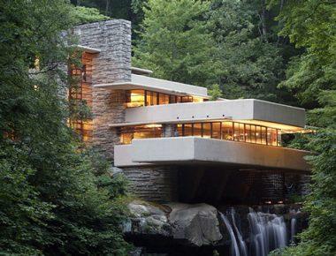 Fallingwater, une maison sur la cascade