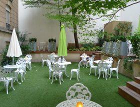 Les Climats, la terrasse la plus discrète de Paris