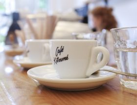 Café Kitsuné : le label branché se fait barista