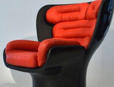 Elda Chair par Joe Colombo : des courbes et du confort