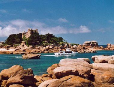Carnet de voyage breton : la côte de Granit Rose