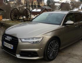 Audi A6 Avant, couteau suisse quattro pour neige de Printemps
