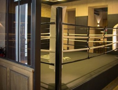 Boxe chic au Temple Noble Art