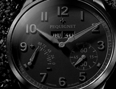 Painted black : le retour de la montre noire
