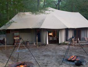 Aberlour Hunting Club : dîner dans les bois