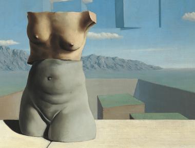 Surréaliste Magritte à Pompidou