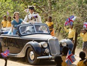 The Crown : Elizabeth II et limousines en série (1/2)