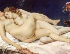 Paresse et luxure : la femme selon Courbet