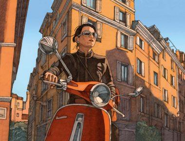 Rome avec Miles Hyman