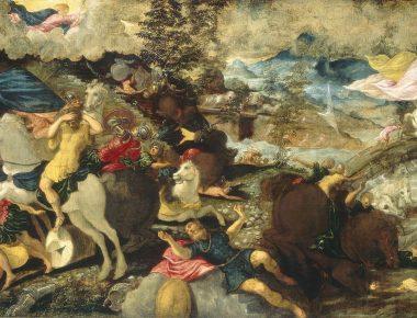Tintoret au Luxembourg : portrait de l'artiste en jeune homme (ambitieux)