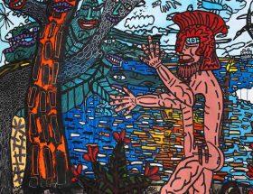 Robert Combas, l'énergie faite peintre