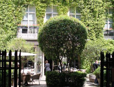 Place des Vosges, déjeunons heureux, déjeunons cachés chez Anne