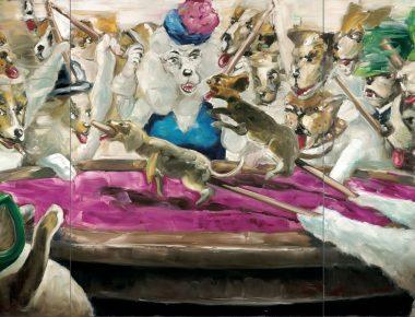 «Monstrueux et réjouissant», Gregory Forstner, la peinture à l'état brut