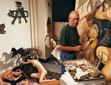 Philip Pearlstein, le peintre qui est toujours resté peintre