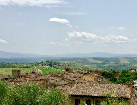 Hors-saison, la Toscane en Vespa