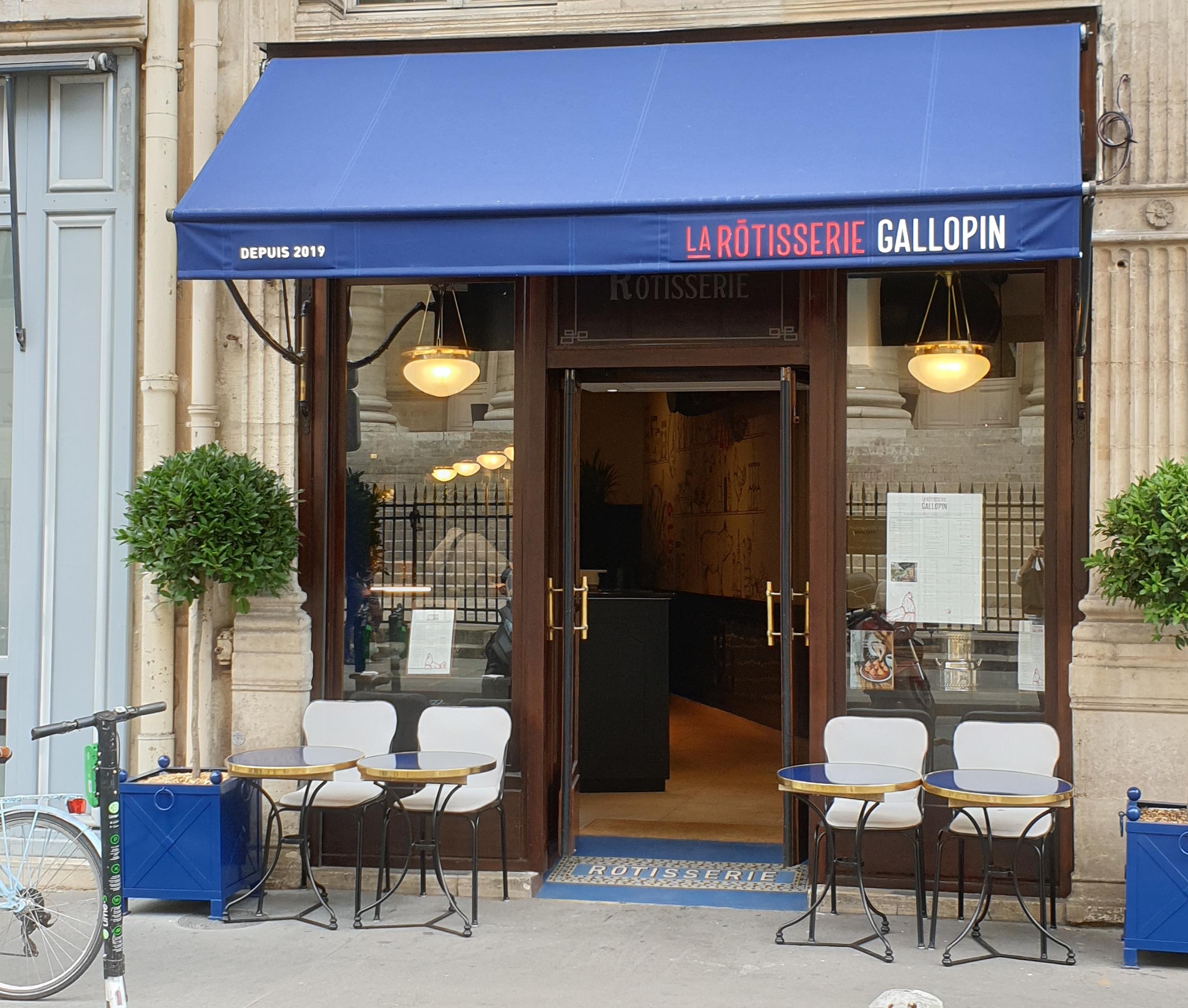 Rotisserie Gallopin Restaurant Paris 1