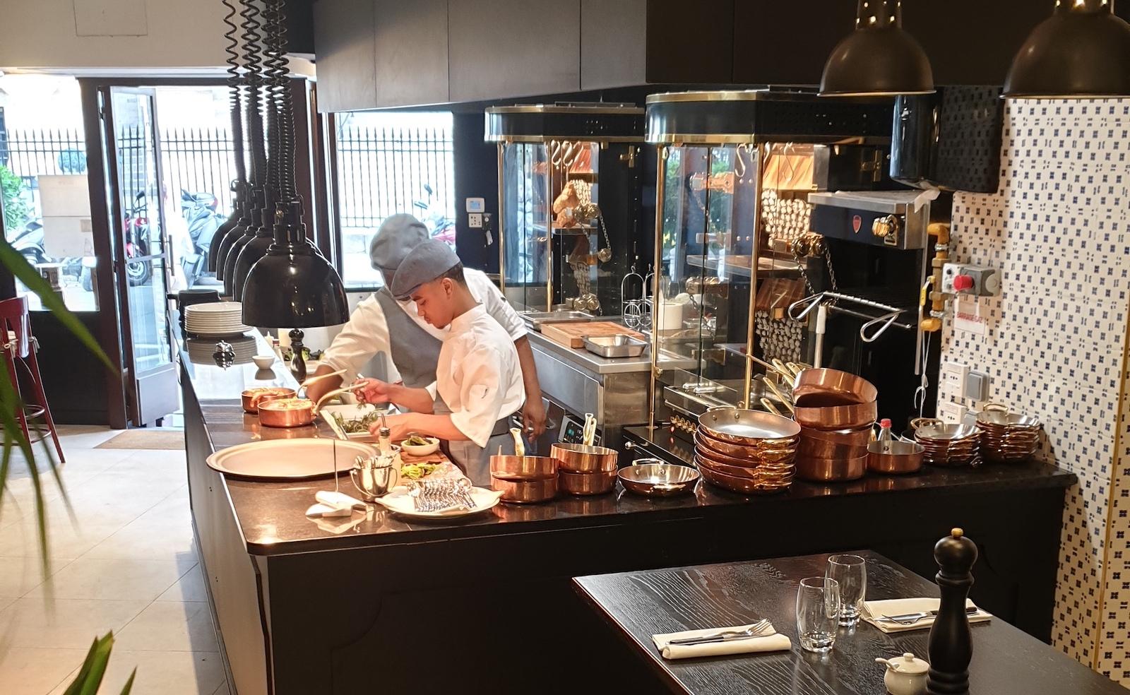 Rotisserie Gallopin Restaurant Paris 13