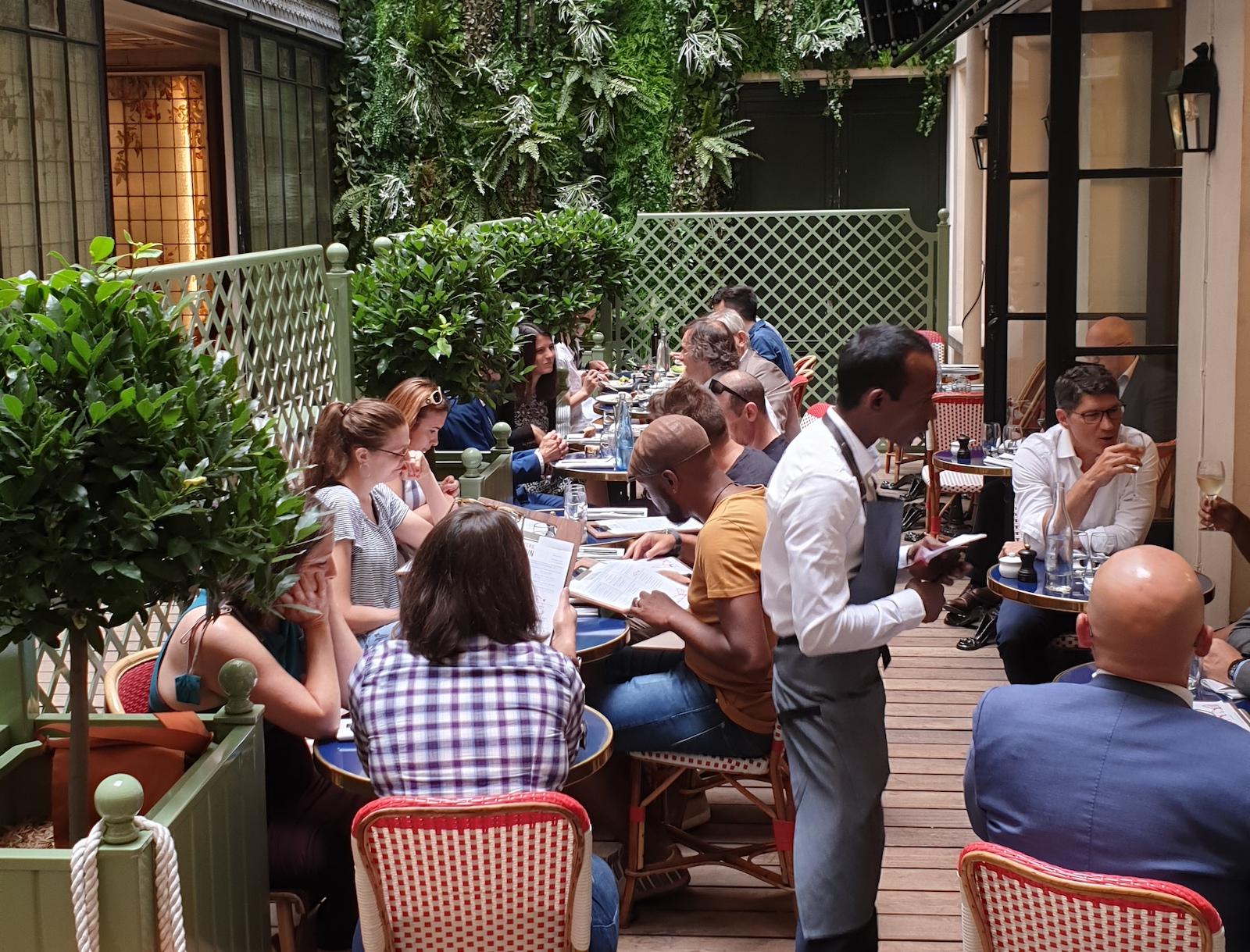 Rotisserie Gallopin Restaurant Paris 4