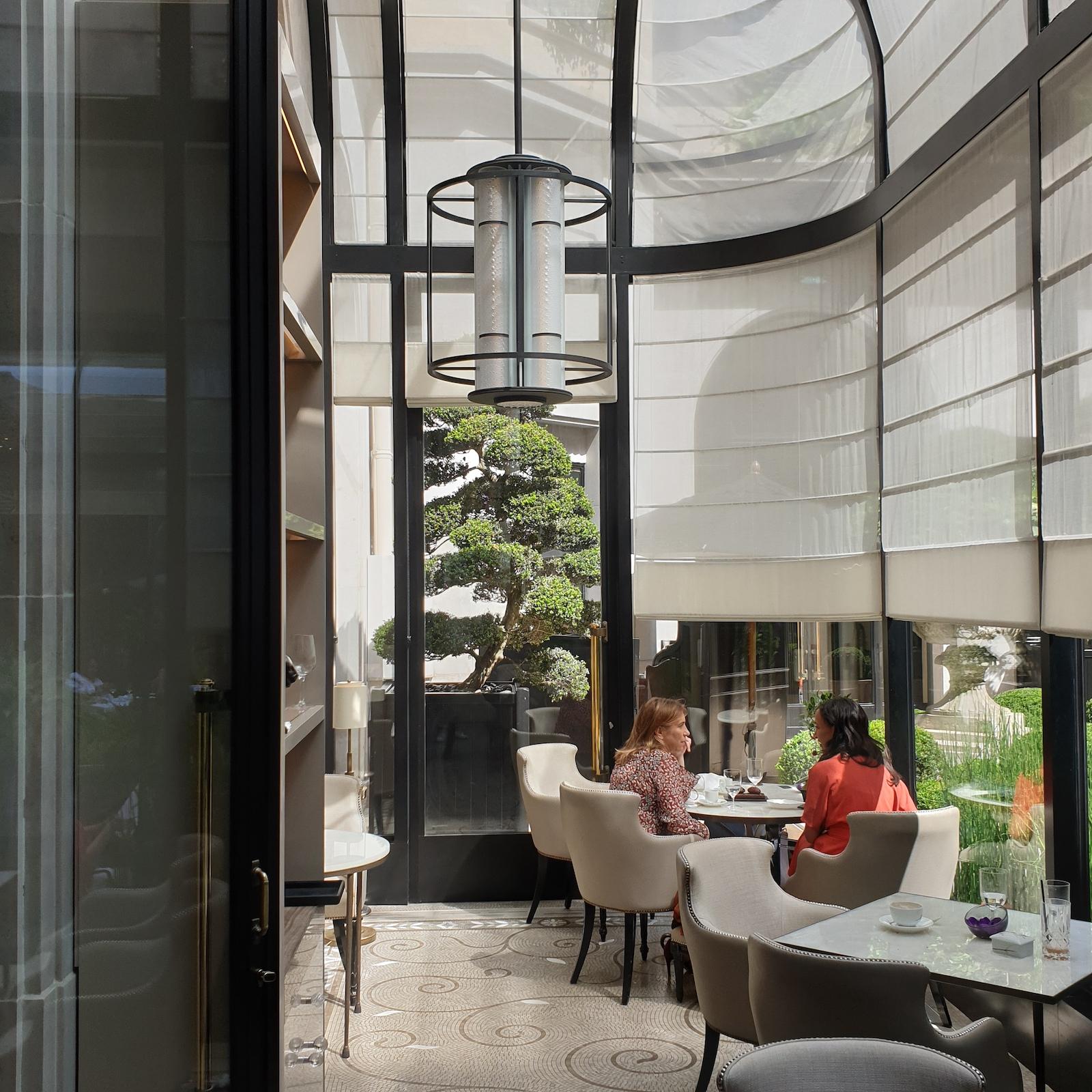 Orangerie George V Restaurant Paris 1