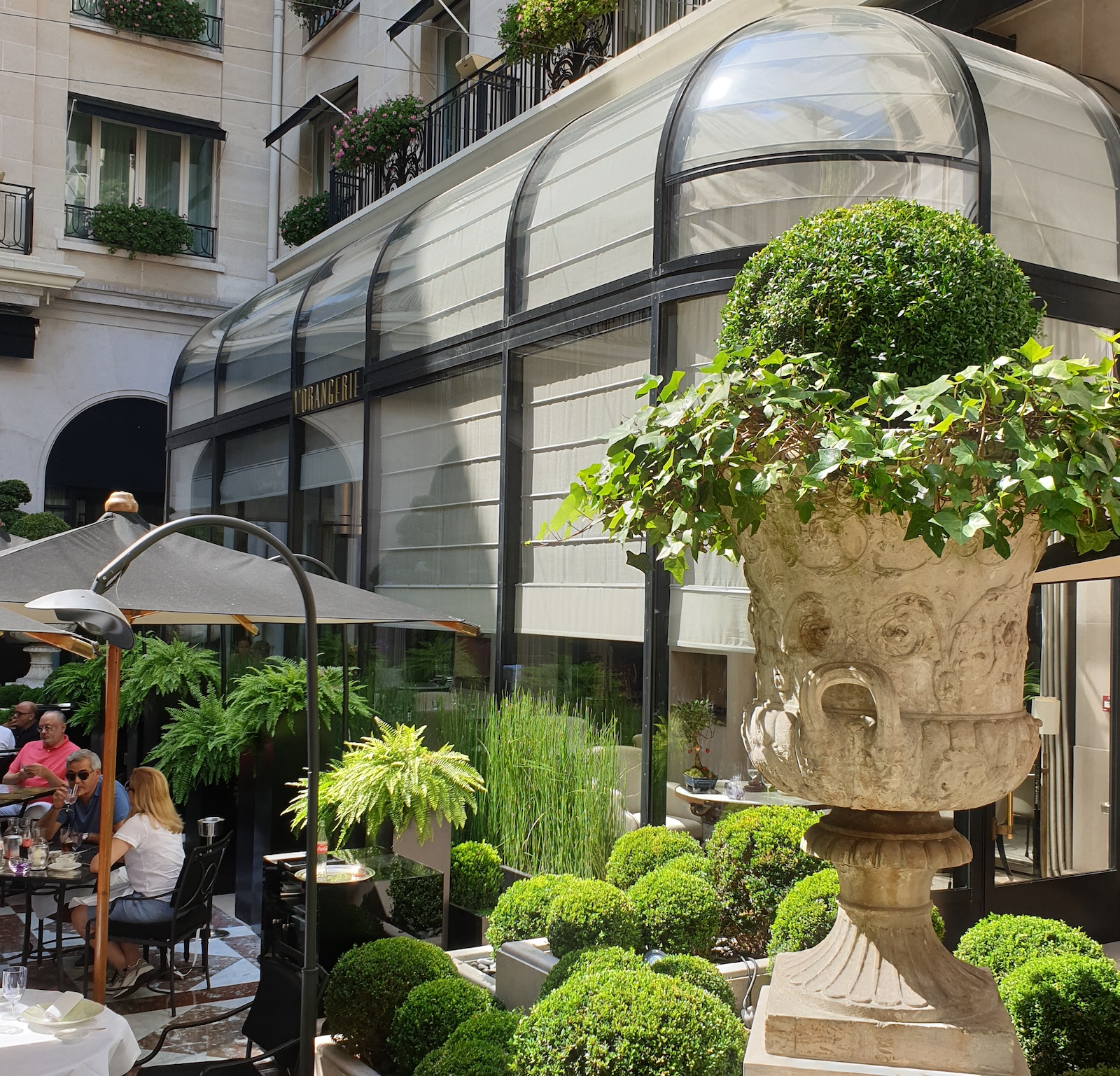 Orangerie George V Restaurant Paris 13