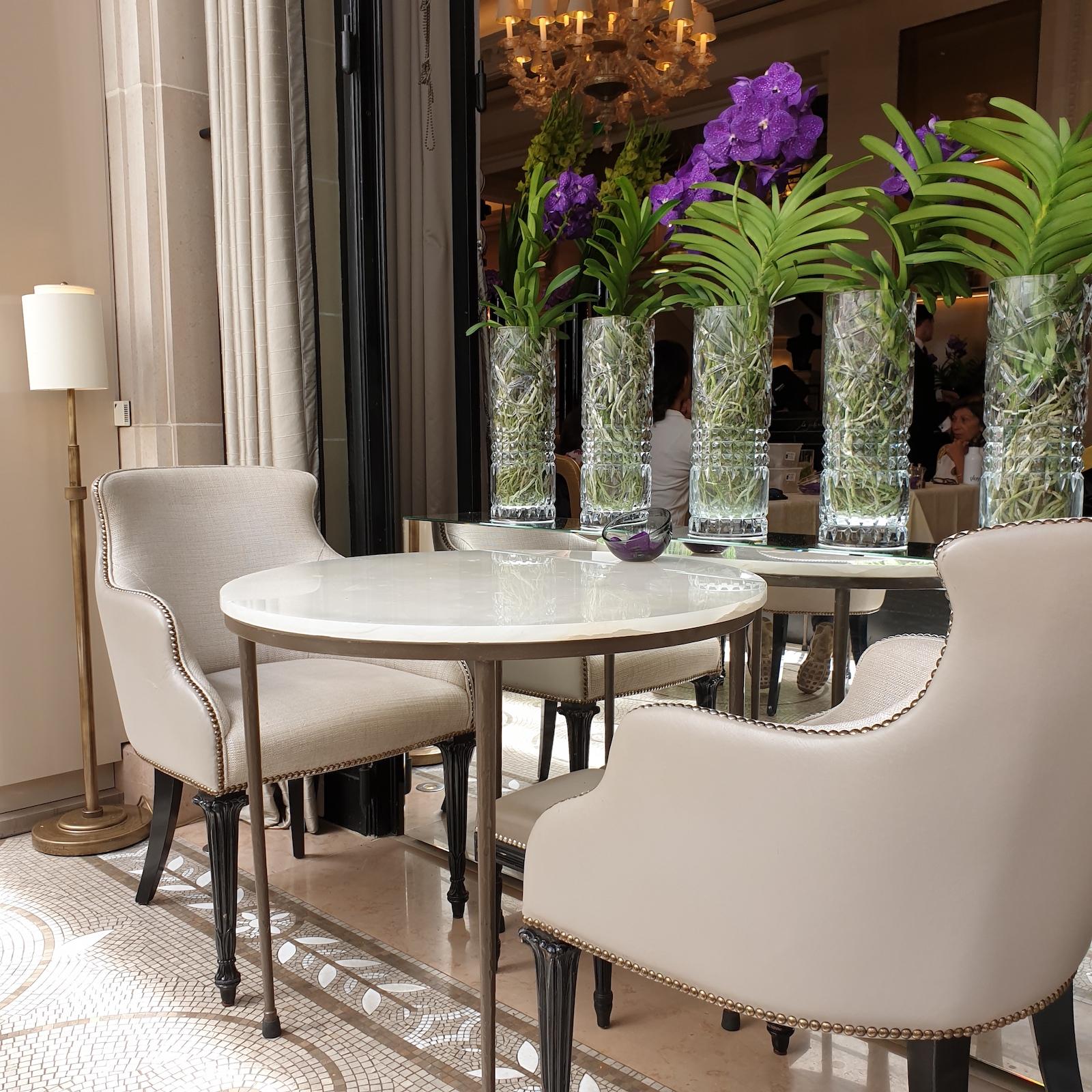 Orangerie George V Restaurant Paris 7