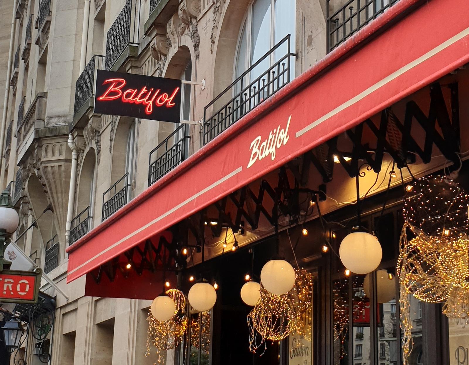 Batifol Restaurant Paris 1