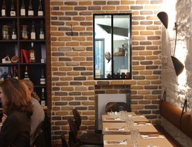 Stéphane Pitré installe sa seconde table au Cellier