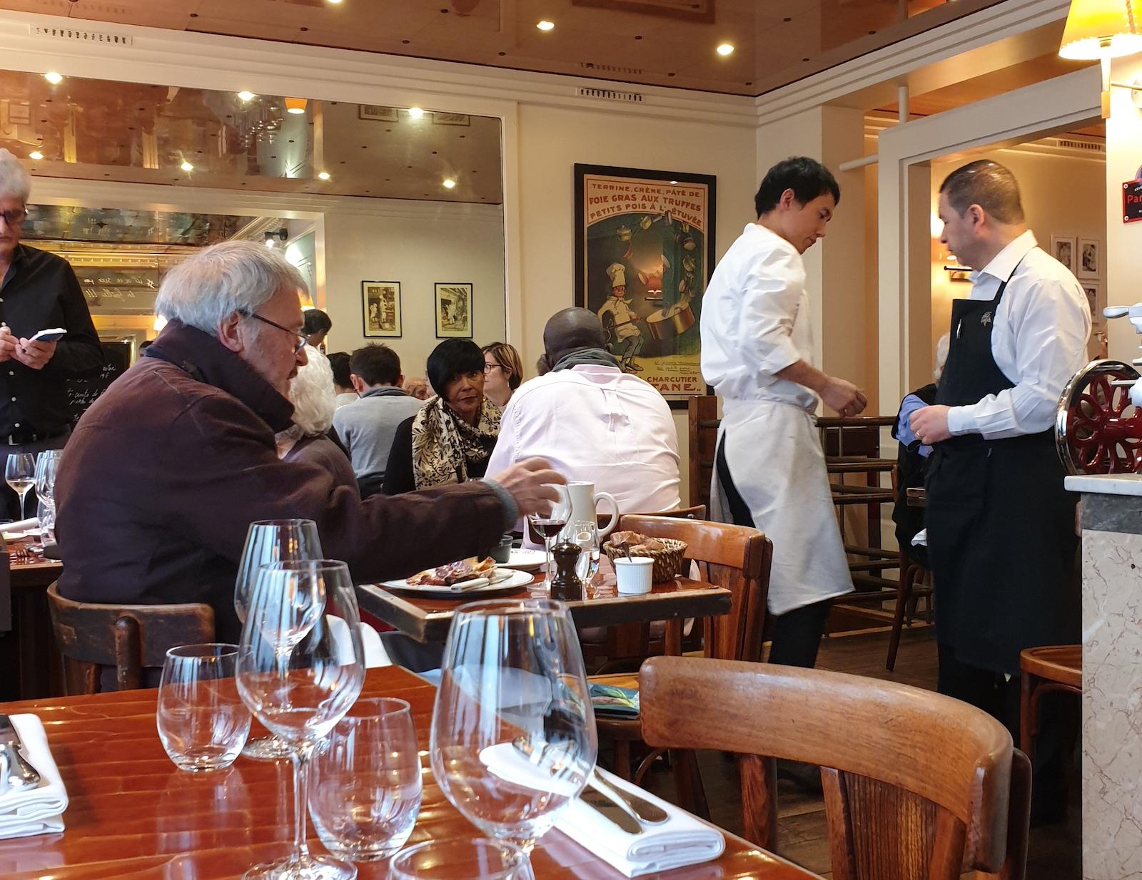 Assiette Restaurant Paris 1