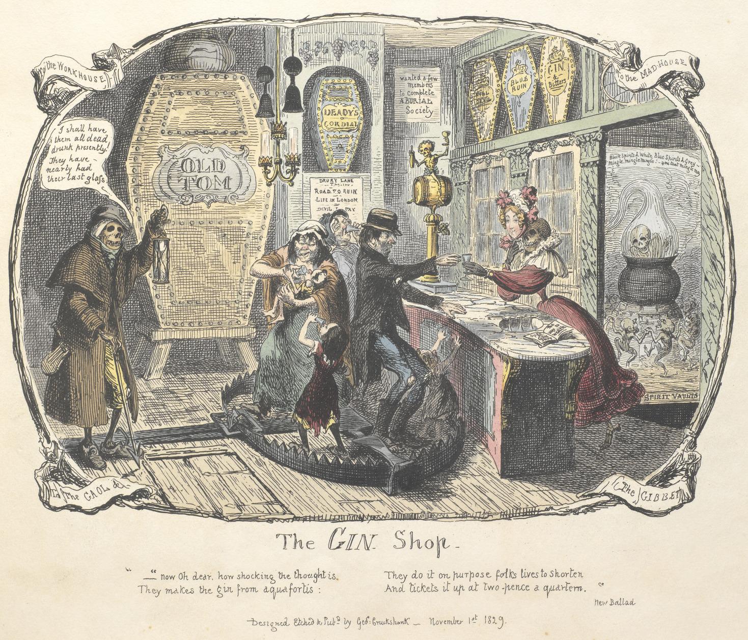 gin shop