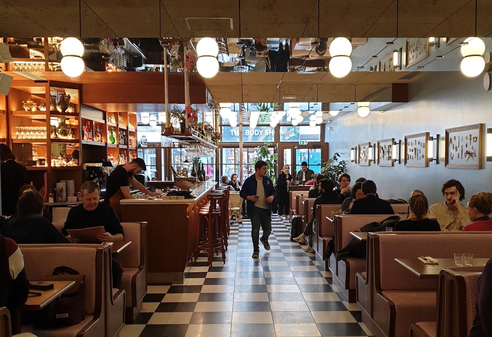Brasserie Rosie Restaurant Paris 1
