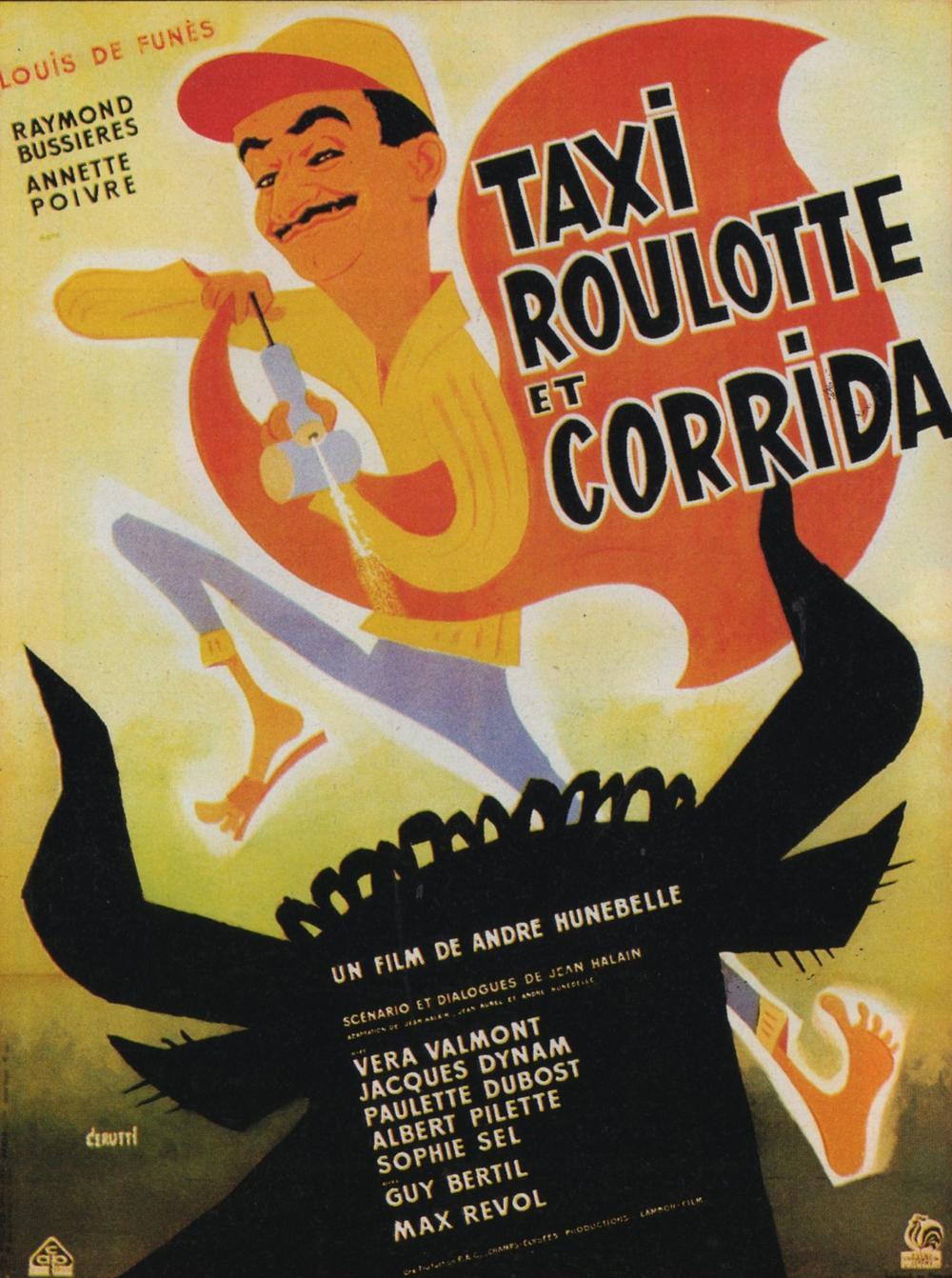 Affiche-Taxi-roulotte-corrida