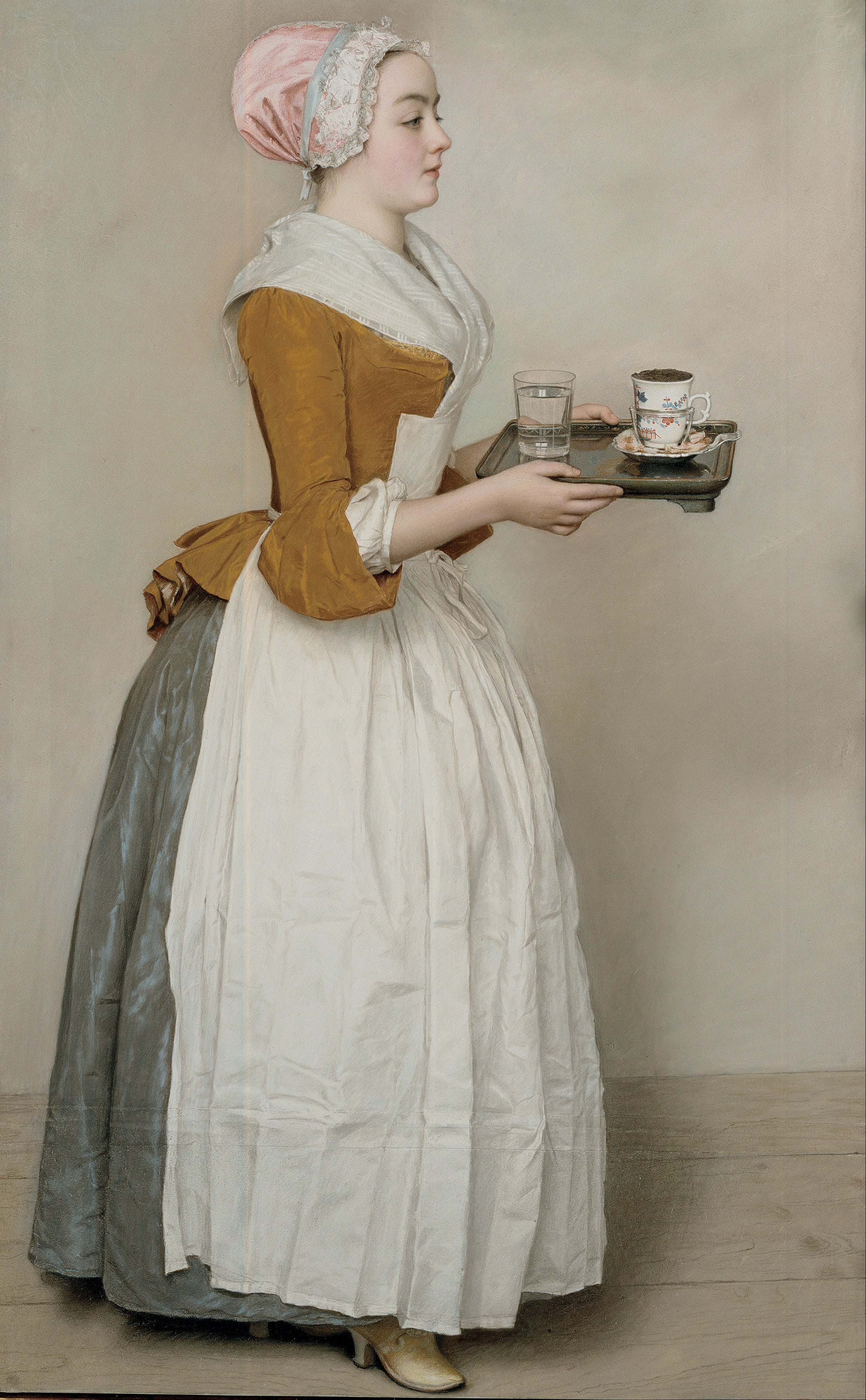 Jean-Etienne_Liotard la belle chocolatiere
