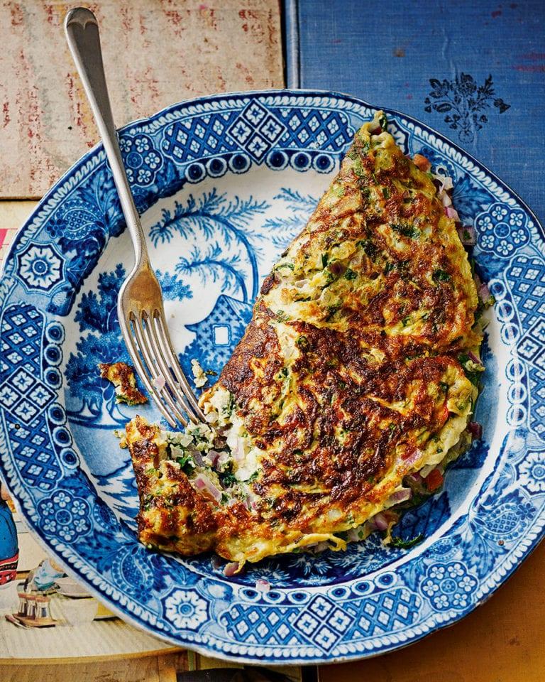 Omelette masala