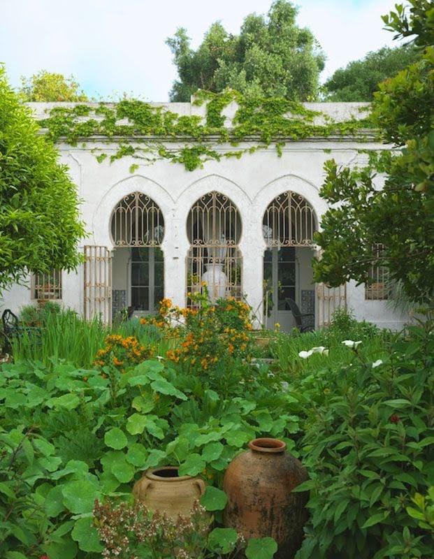 Umberto Pastis Tangier garden