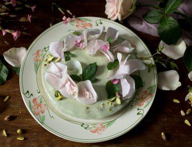 La palette du cuisinier : le gâteau vert-vert de Claude Monet