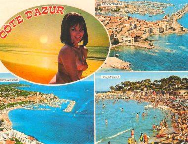 Goût kitsch et humour olé-olé, quand la carte postale coquine était reine