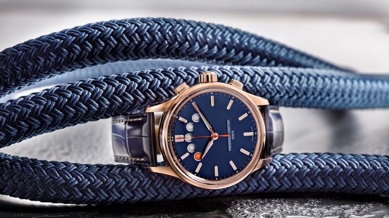 F Constant Yacht Timer Regatta Countdown blue