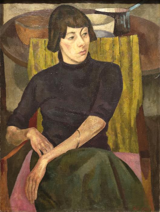 Nina_Hamnett_by_Roger_Fry_1917