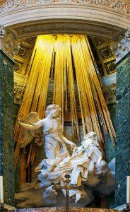 Extase Sainte-Therese Bernin-les-hardis-extase