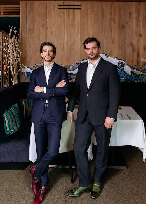 Portrait Mikael et Alexandre Petrossian les hardis