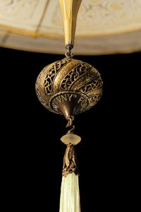 fortuny-scheherazade-2-tiers-geometric-silk-lamp-detail