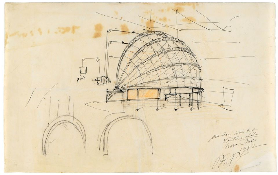 mariano_fortuny_dome_sketch