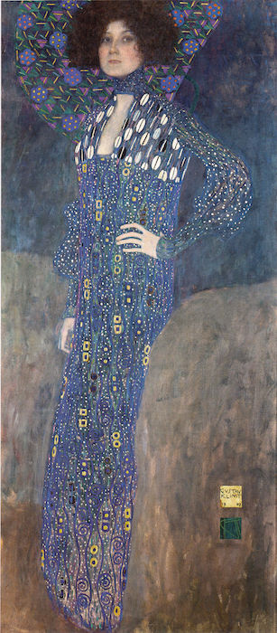 Klimt-Portrait-Emilie-Flöge-klimt-les-hardis