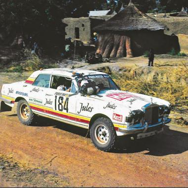 Au Paris-Dakar 1981, la Rolls-Royce des sables