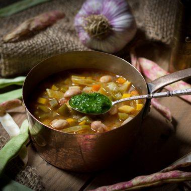 La vraie recette de la soupe au pistou